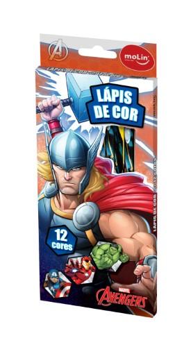 LÁPIS DE COR 12 CORES