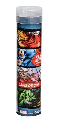 LÁPIS DE COR 24 CORES