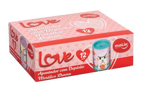 APONTADOR METÁLICO LOVE LHAMA