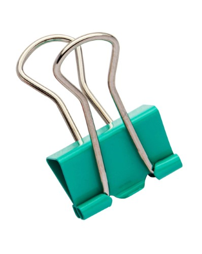 BINDER CLIPS COLOR PLUS 19 mm
