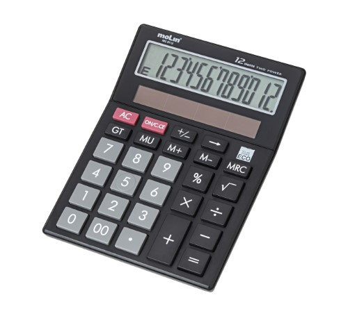 CALCULADORA DE MESA 12 Dígitos MC 8112