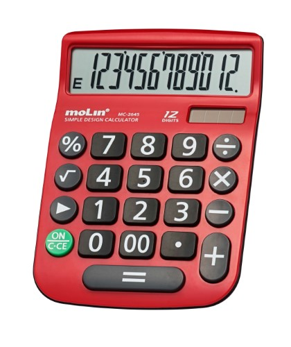 CALCULADORA DE MESA 12 Dígitos MC 2645