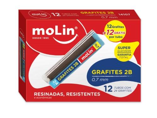 GRAFITES 0,7mm 2B