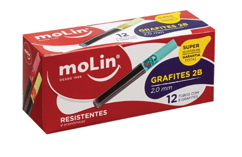 GRAFITES 2,0mm 2B