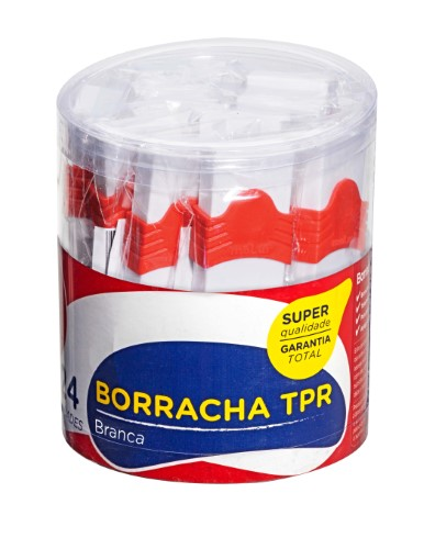 BORRACHA TPR BRANCA