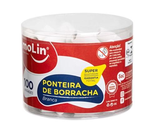 PONTEIRA DE BORRACHA BRANCA