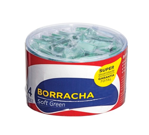 BORRACHA SOFT GREEN