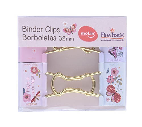 BINDER CLIPS SOFT 32mm